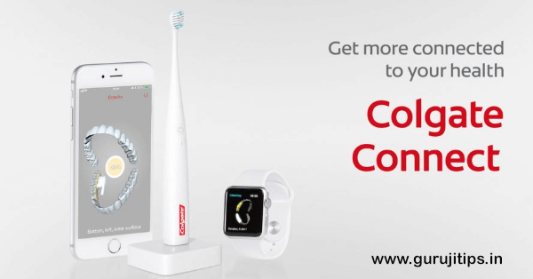 Smart tooth brush colgate