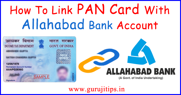 Link PAN to Allahabad Bank
