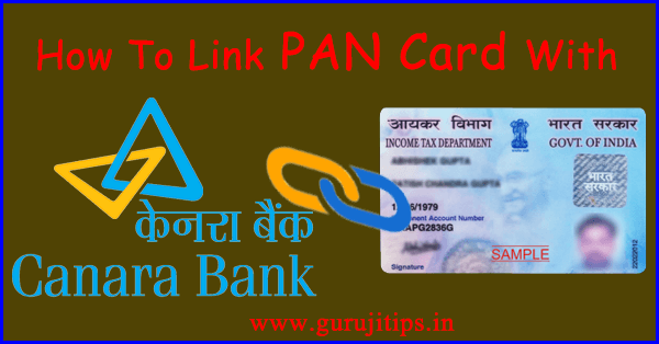 link pan with canara bank