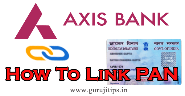 pan link with axis bank