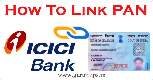 link pan with icici bank