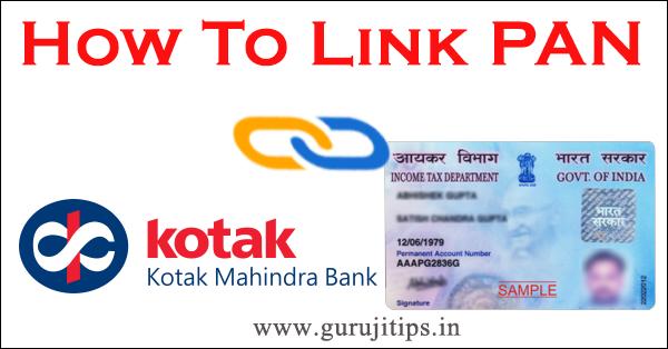 link pan with katak mahindra bank