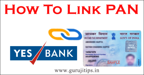link pan with yes bank