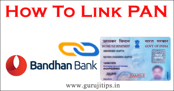 pan link with bandhan bank