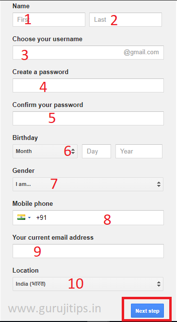 gmail account kaise banaye