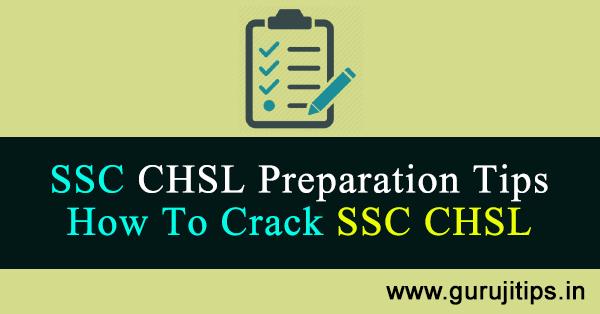 ssc chsl preparation tips hindi