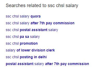 SSC CHSL Salary