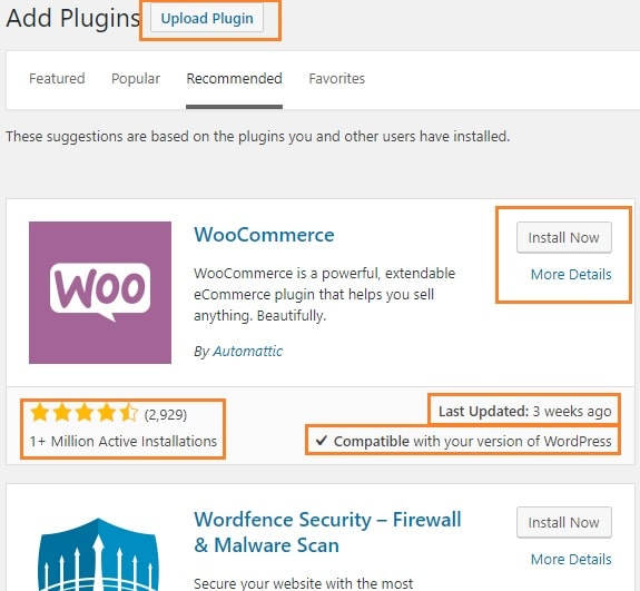 install wp plugin