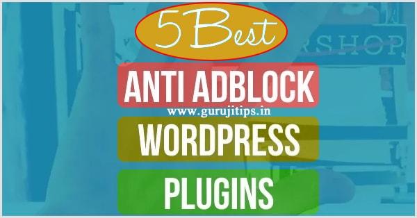 anti adblock plugin
