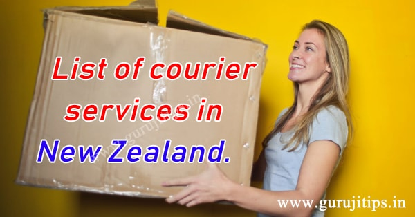 courier service in new zealand