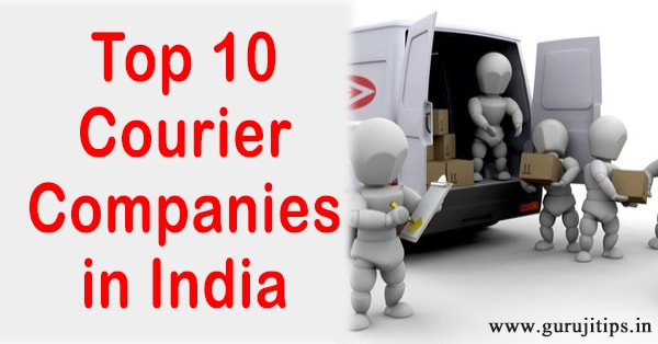 top 10 courier company in india