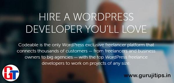codeable wordpress developer job